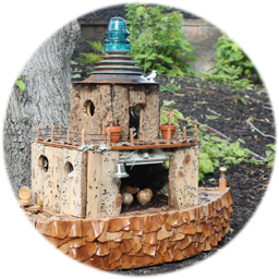 Fairy House Sue Beardsley & Tehva Baumflek