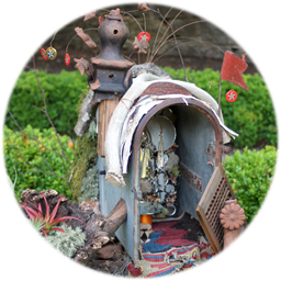 Fairy House Barbara Whitehead & Bruce Safley
