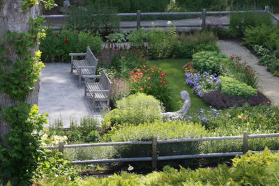 West Garden and Patio