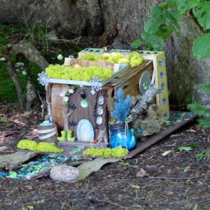 Fairy House by Linda & Sophia Steele