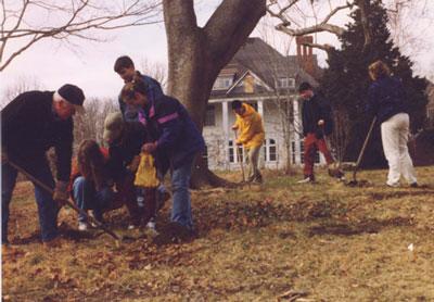 Historic Highfield Volunteers at Work